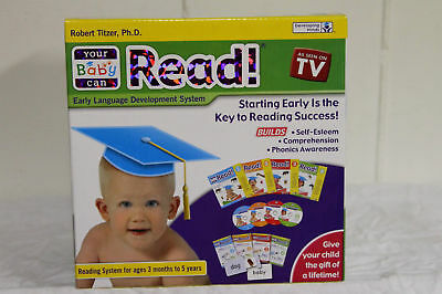 Your My Baby Can Read Complete set w/ Volume 1-4 + Extra DVD incl books cards