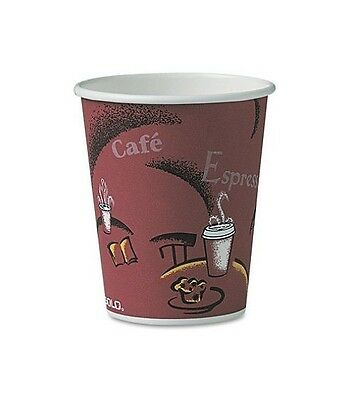 Solo Hot Paper Cups 10 oz 300 Ct Cup For Hot Beverages - Free Shipping