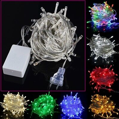 10M 100LED 110V String Fairy Wedding Light Lamp Xmas Party Christmas Decor