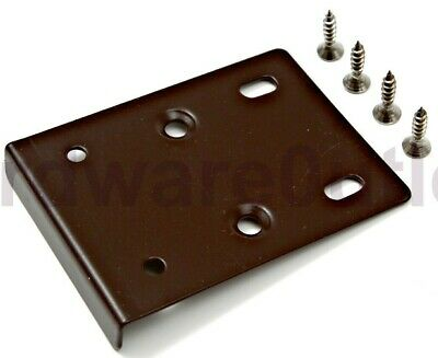 1 Pair Kitchen Unit Cupboard Wardrobe Cabinet Door Hinge Repair Plates
