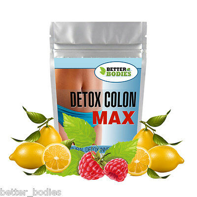Colon Cleanser Detox Cleanse Capsules Cleansing Pills Weight Loss Slimming Diet