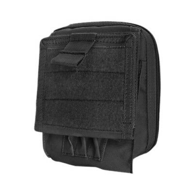 Condor Multifunctional Combat Army Map Document Pouch Molle System Webbing Black