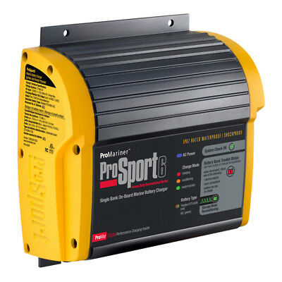 ProSport 6 12 Volt 6 Amp Marine Battery Charger High performance AGM Kit