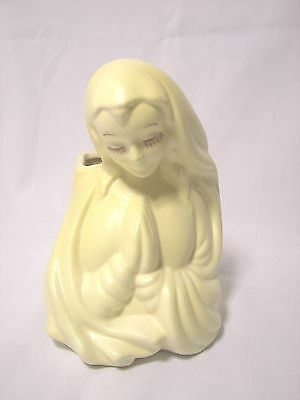 Vintage Hull Madonna Mary Planter #24 Porcelin Vase