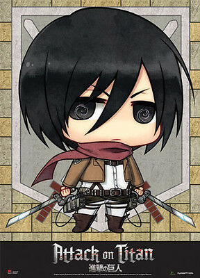 Japanese Anime Attack on Titan Poster Wall Scroll Painting Home Decor Gift ChK9#