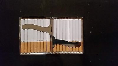 Cigarette Case Stainless Steel  Item  3050 F ( Hold 18 cigarettes )