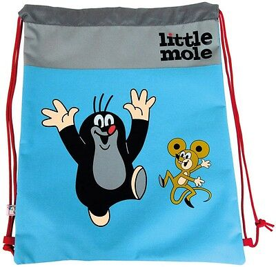 Krtek - Little Mole - Maulwurf  BIG SPORTS BAG new official Czech item