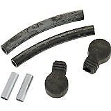 Kuryakyn Replacement Components Rubber Hoses & Boots Set Use Hypercharger Harley