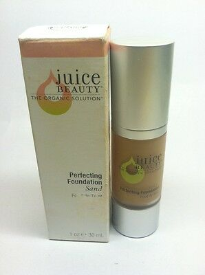 Juice Beauty Perfecting Foundation- Sand 1 oz - Brand New With Box