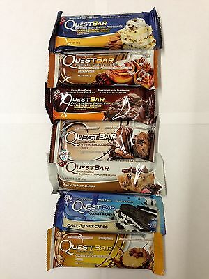 Quest Nutrition, 7 Mixed Protein Bars, Variety pack, Brand new stock