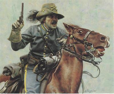 """""""The Commander"""" Don Stivers Civil War Limited Edition Signed Print"""