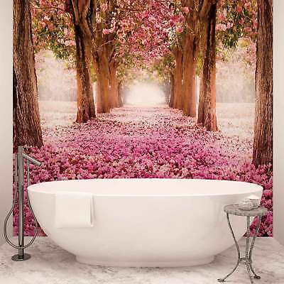 WALL MURAL PHOTO WALLPAPER PICTURE (851PP) Flowers Floral Trees Woods