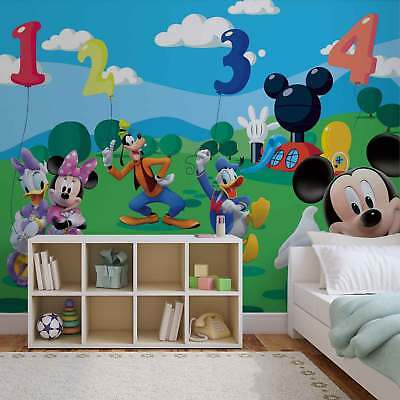 WALL MURAL PHOTO WALLPAPER PICTURE (4-029P) Mickey Mouse Girls Kids Childrens