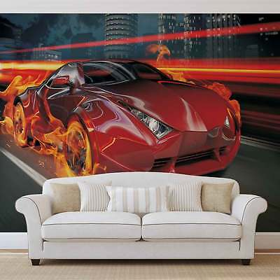 WALL MURAL PHOTO WALLPAPER PICTURE (132PP) Car Boys Teenager Kids