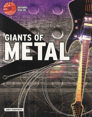 Giants of Metal Learn to Play Guitar TAB Music Book/CD by Jamie Humphries