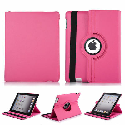 NEW 360 ROTATING Smart Stand Sleep Wake Up Case Cover Folio for Apple iPad Air 2