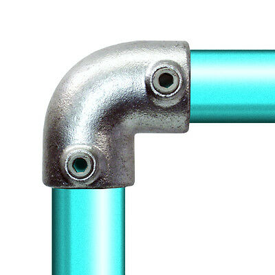 90 Deg Elbow TubeClamp, PipeClamp, KeeClamp, Scaffold Handrailing Fitting