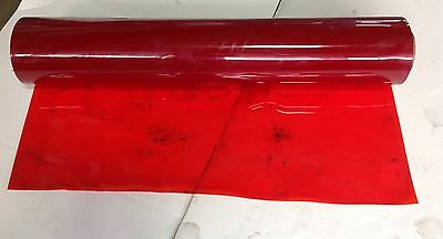 Welding Safety Curtain Red 4 Ft Wide  2 Mm Thick  39Ff On Roll