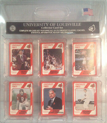 University of Louisville Collector Card Set (300 Cards)