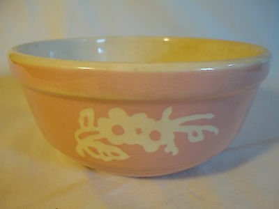 vintage 7 inch Cameo Ware Harker mixing bowl