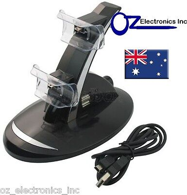 PS3 Wireless & Wired dual controller charging stand USB Cable for Sony PS3