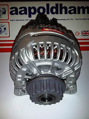 Fits VOLKSWAGEN Transporter 2.5 TDI 7909UK Alternator 2006-2009 T5