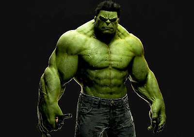The Incredible Hulk Avengers Giant Poster - A0 A1 A2 A3 A4 Sizes
