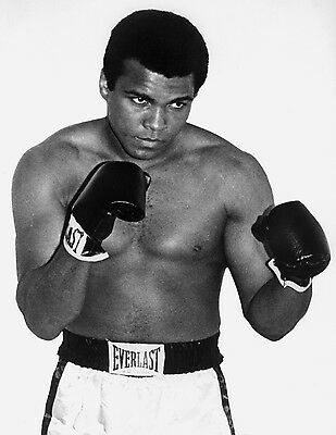 Muhammad Ali Boxing Giant Poster - A0 A1 A2 A3 A4 Sizes