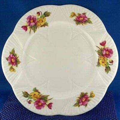 Dainty Shelley Begonia Dinner Plate (Four Available)