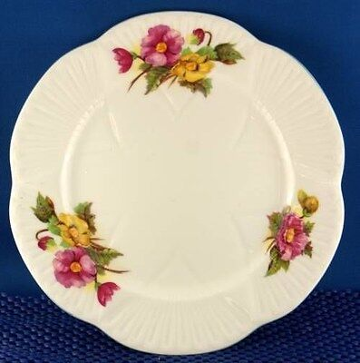 Dainty Shelley Begonia Salad Plate (Four Available)