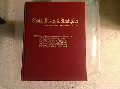 One pocket Billiards  book, shots,moves and strategies,Autographed by Steve Cook