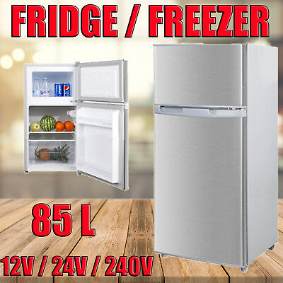 80L Portable Freezer Fridge 12V/24V/240V  Camping Car Boating Caravan Bar Fridge