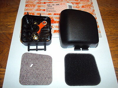 Stihl Hs45 Hedge Cutter Air Filter Housing Complete Filter Assembly 4228140285