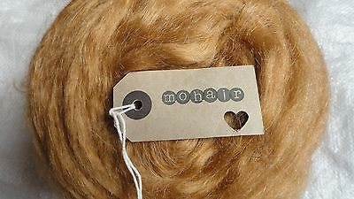 30g (approx1oz) MOHAIR. STRAWBERRY BLONDE  - Straight