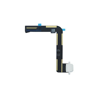Charging Port Dock Connector Flex Cable Replacement for iPad Air White
