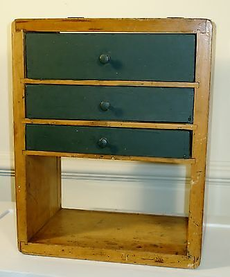 Display cases mercantile trades factories antiques Vintage countertop display case