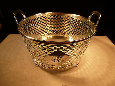 Antique Tiffany And Co Makers M Sterling Silver .925  Caviar Shrimp Wine Chiller
