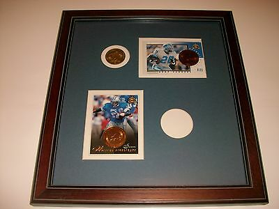Barry Sanders Pinnacle Minted Highlights 8x12 Plaque