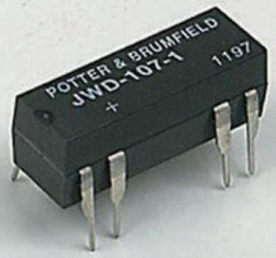 Te Connectivity/Potter&Brumfield Jwd-172-5 Dry Reed Relay Spdt 6Vdc 0.5A Thd
