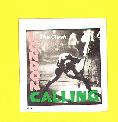 Clash the 1979 sticker unused MINTY MINT COND London Calling