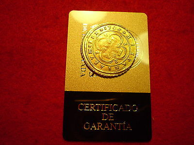 Certified 1704 Spanish Seville Gold 8 Escudos Doubloon Coin, Superb Rare Piece