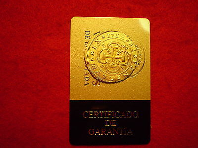 Certified 1712 Spanish Seville Gold 8 Escudos Doubloon Coin, Superb Rare Piece
