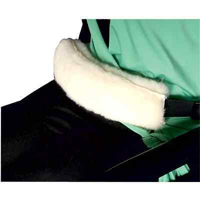 Wheelchair Seat Belt Fleece Cover - Padded Cover For Wheelchair Lap Straps.