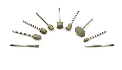 Diamond Bonded Burs Burrs Chiropody Podiatry for Filing Grinding and Shaping