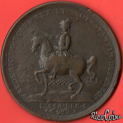 1757 Frederick the Great - Battle of Rosbach & Lissa - Commemorative Medal