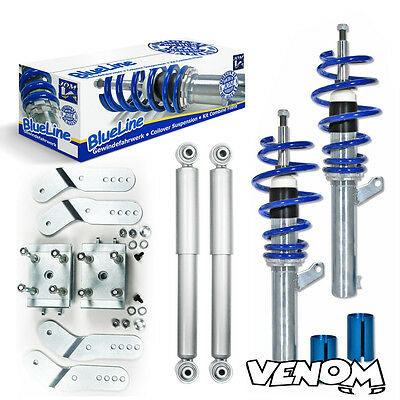 Jom Blueline Height Adjustable Coilovers Suspension Kit VW Caddy 2K-741139