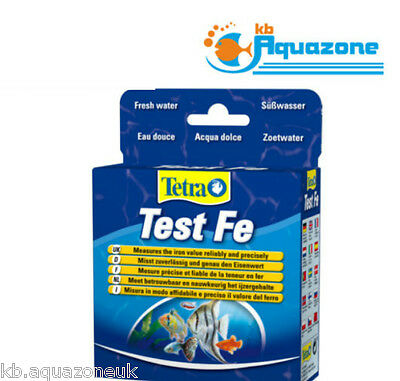 Tetra TEST Fe (10ml + 16.5g) FRESH WATER * measures the iron value any* FREE
