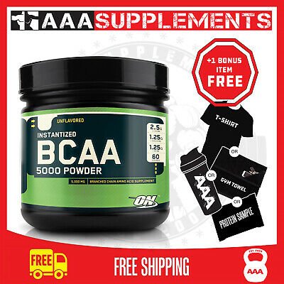 OPTIMUM NUTRITION  Instantized BCAA 5000 powder   Micronized BRANCHED CHAIN AA's