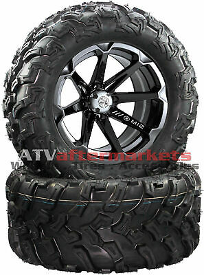 "RZR XP 900 JAGGED X EPS 2013 MSA M12 Diesel 14/"" Wheel Black"