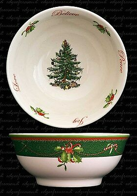 Spode Christmas Tree 2011 Annual Collection Bowl Nuts Candies Sweets